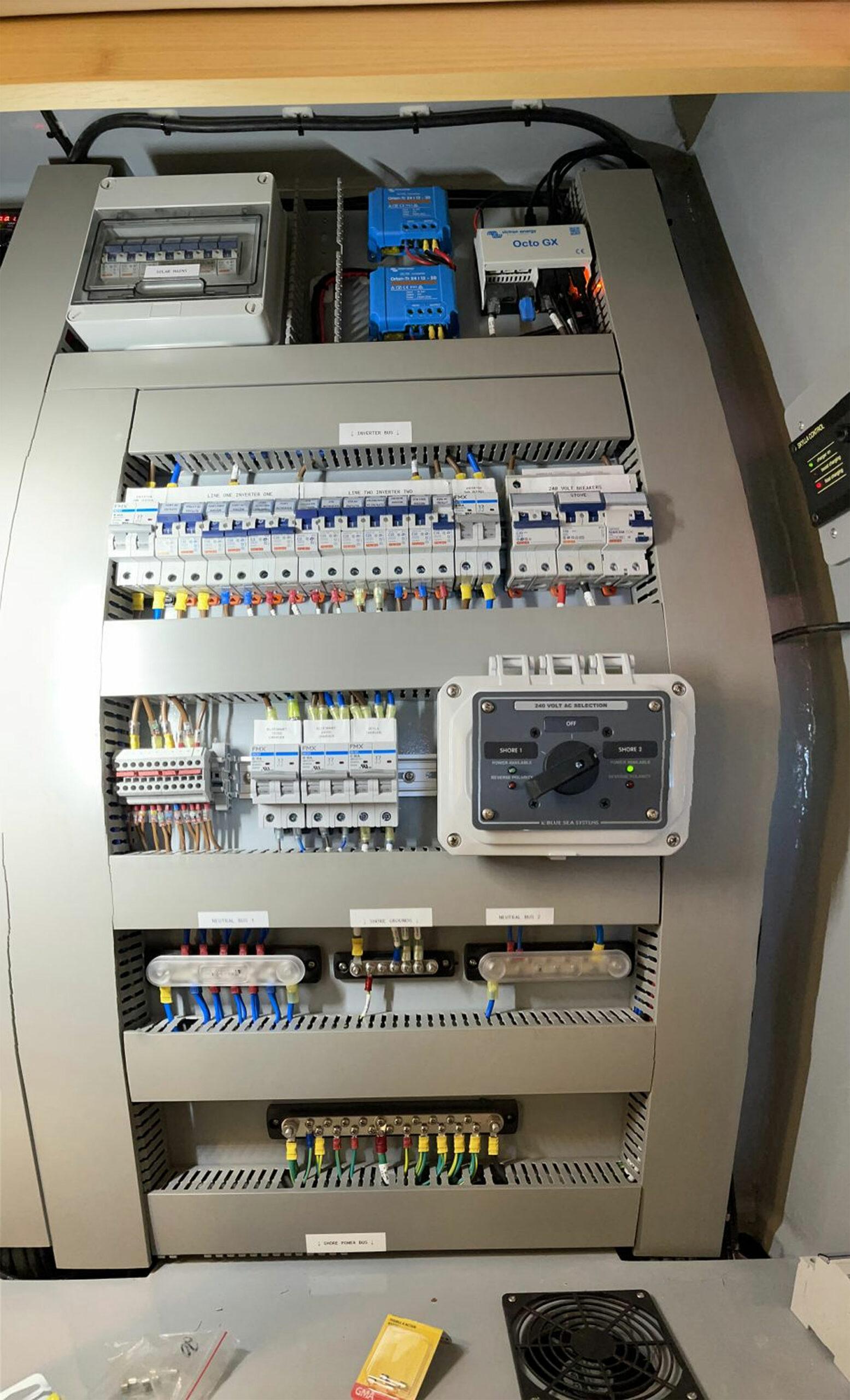 Vingilote  engine room